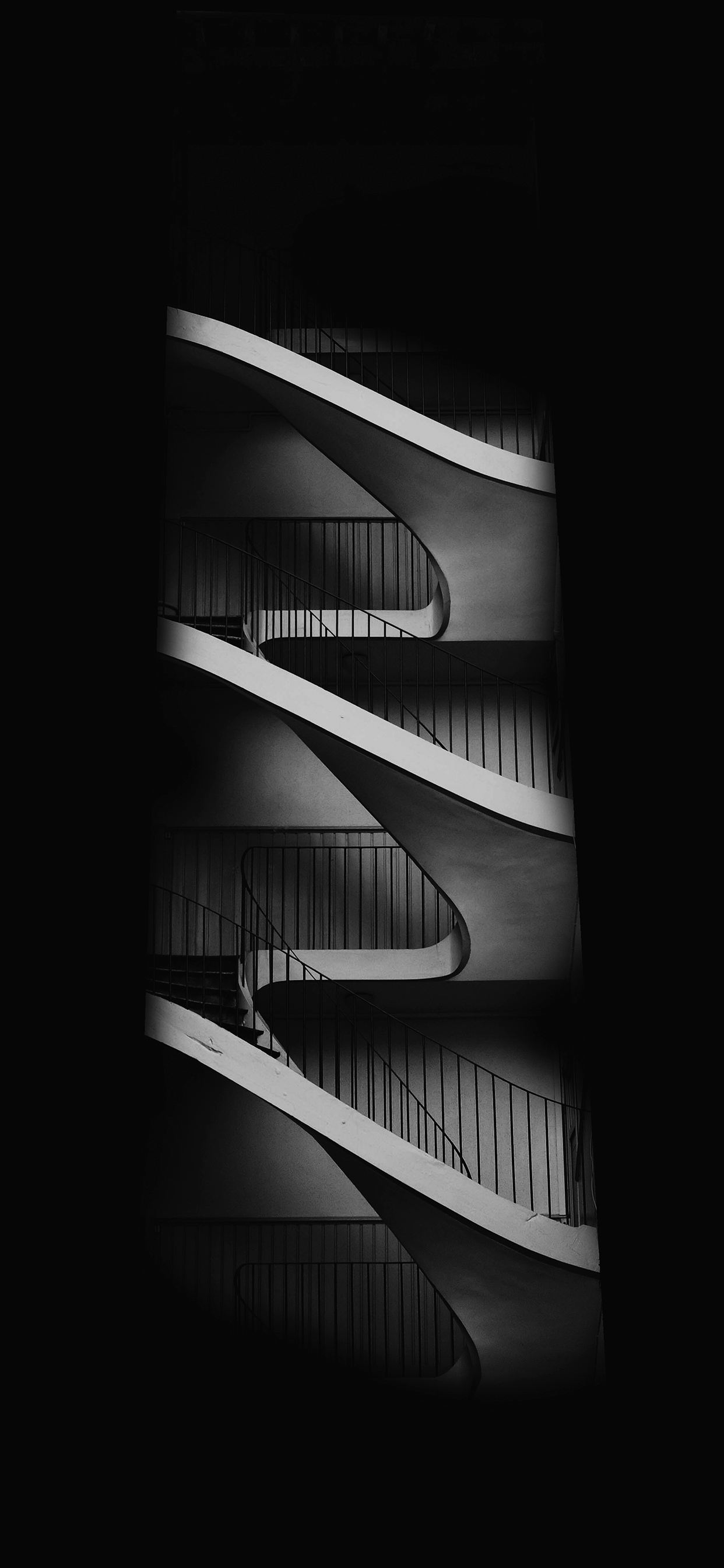 iPhone wallpapers dark stairs Fonds d'écran iPhone du 12/06/2019