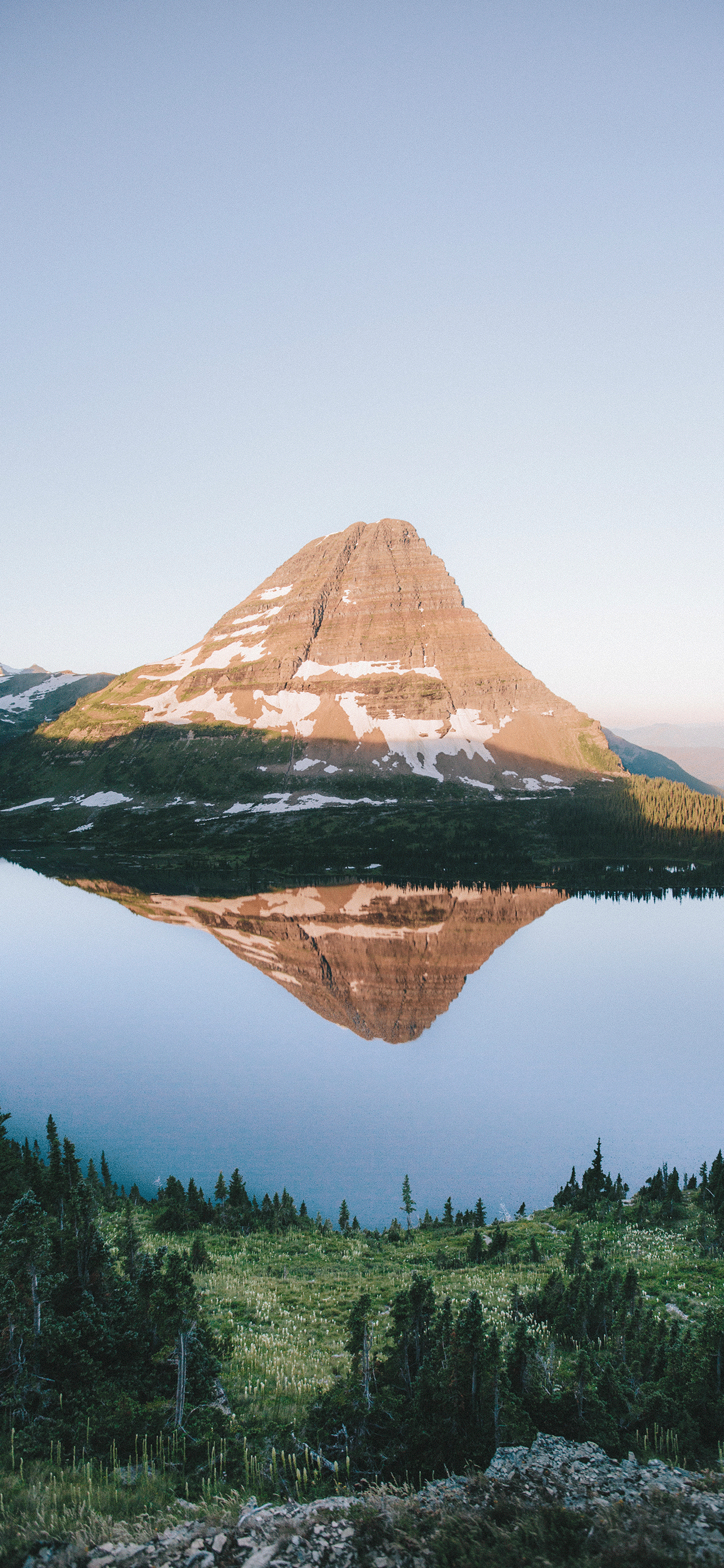 iPhone wallpapers mountain glacier national park Fonds d'écran iPhone du 25/06/2019