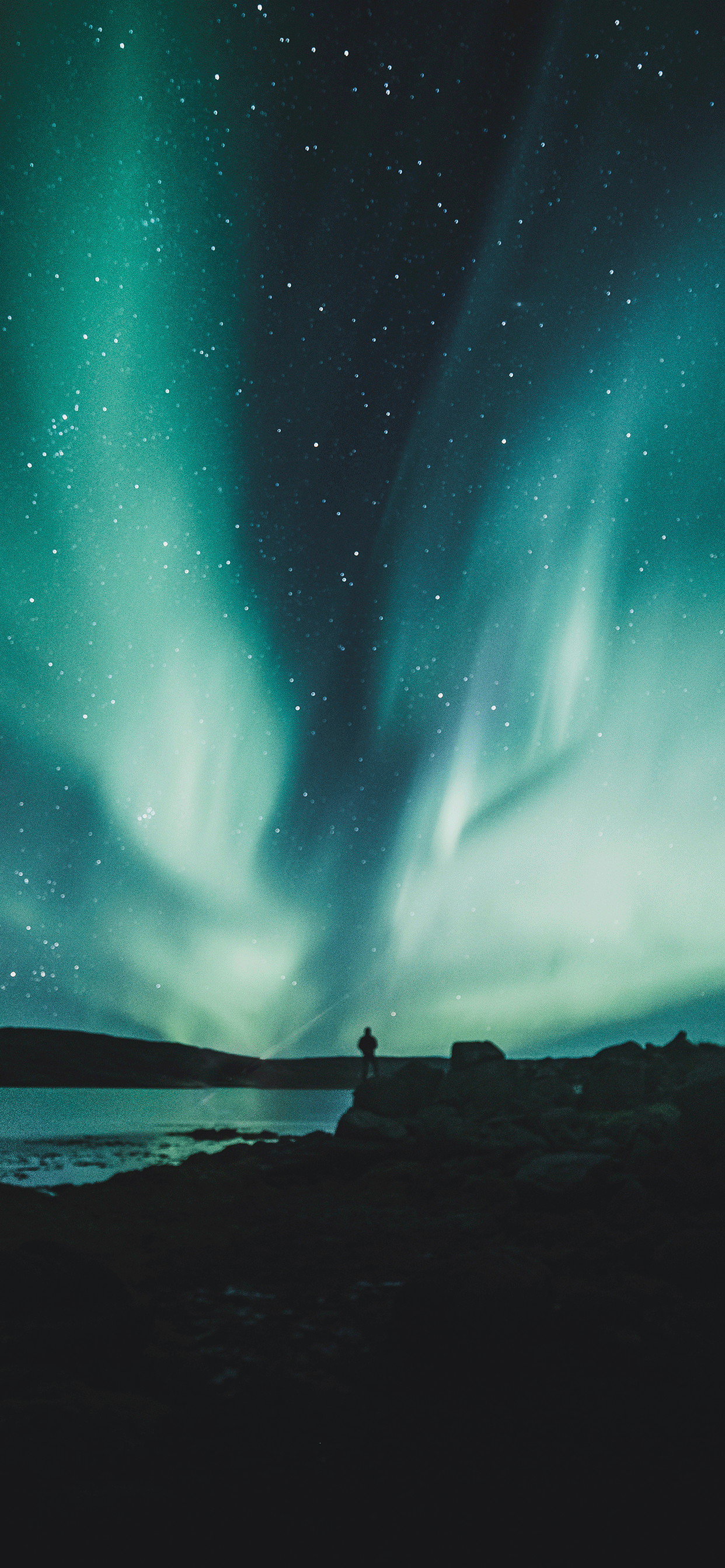 iPhone wallpapers northern lights westfjords Fonds d'écran iPhone du 04/06/2019