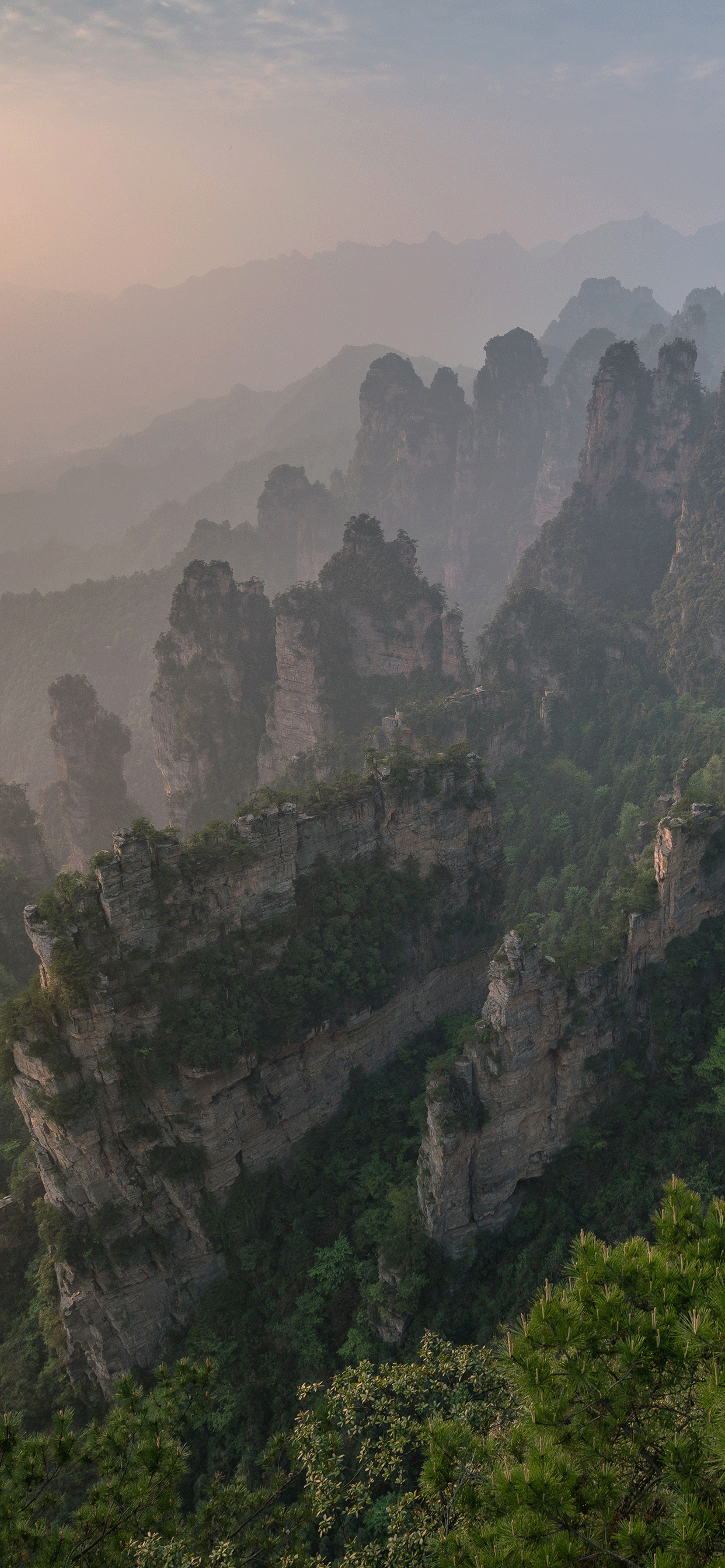 iPhone wallpapers zhangjiajie national park 2 Fonds d'écran iPhone du 17/06/2019