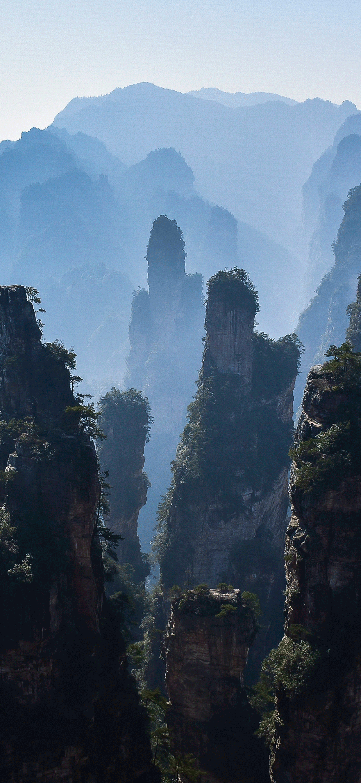 iPhone wallpapers zhangjiajie national park 3 Fonds d'écran iPhone du 17/06/2019
