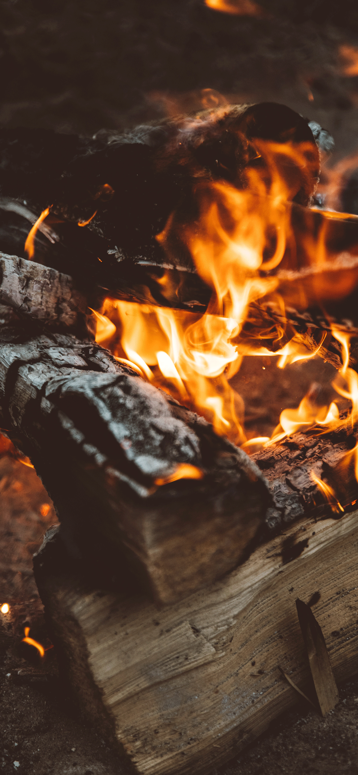 iPhone wallpapers fire wood Fonds d'écran iPhone du 11/07/2019