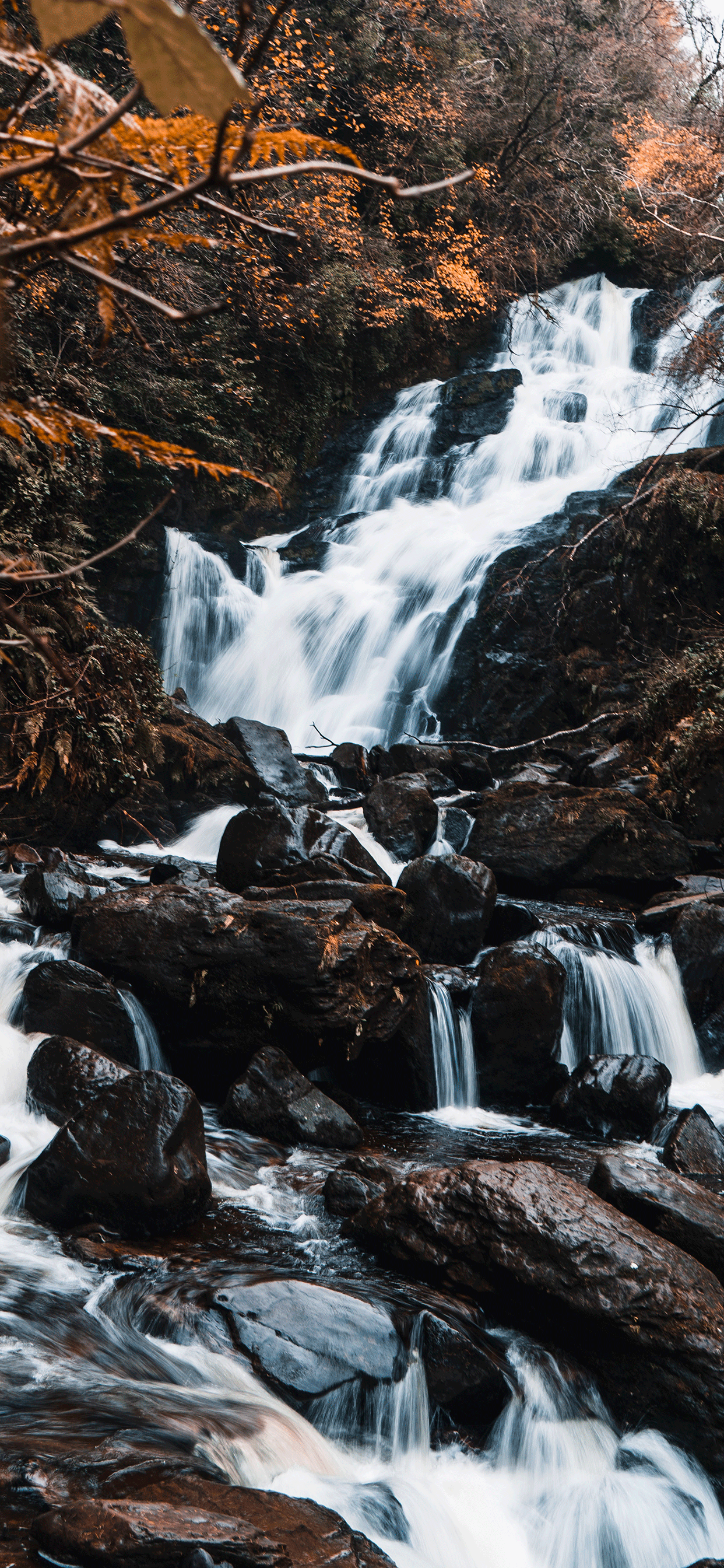 iPhone wallpapers waterfall killarney ireland Waterfall