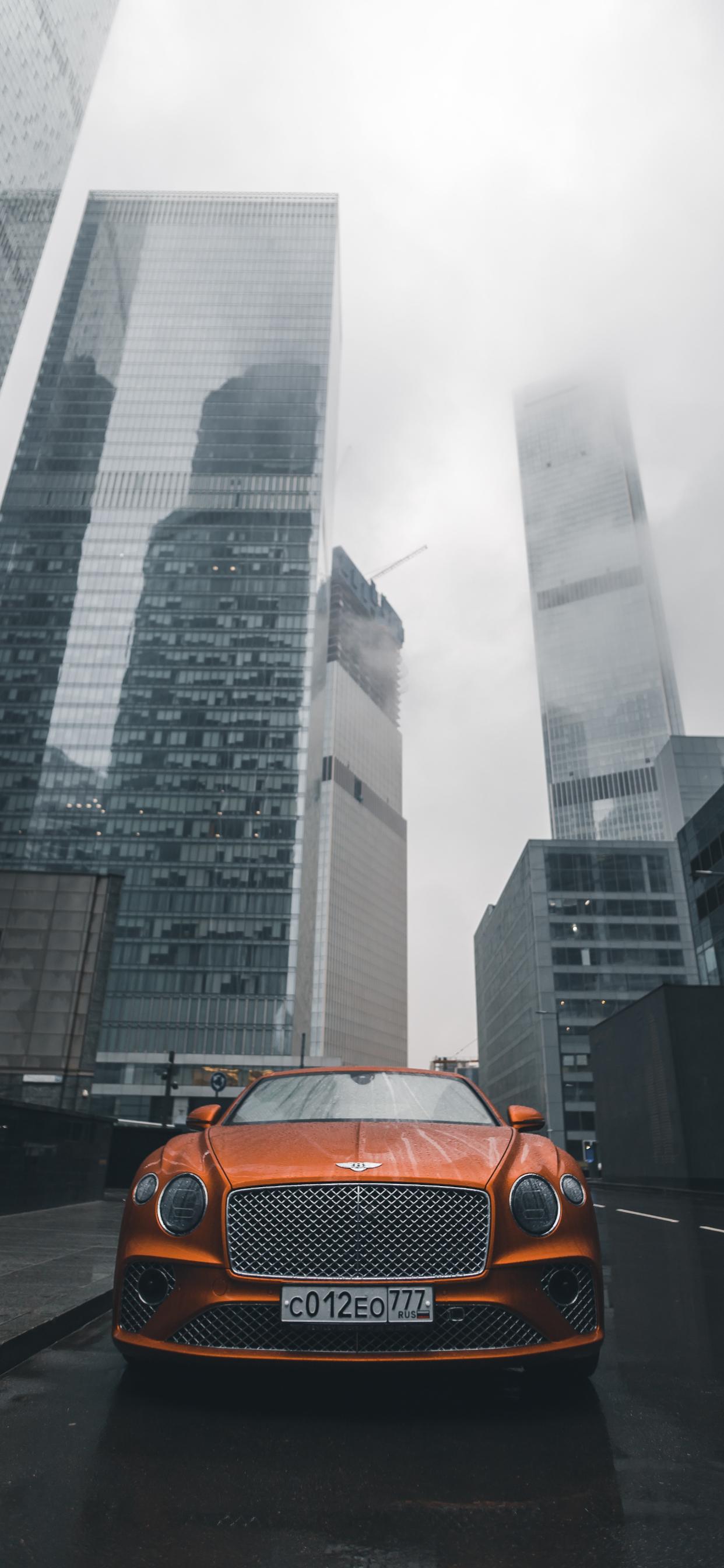 iPhone wallpaper bentley car street Fonds d'écran iPhone du 29/08/2019
