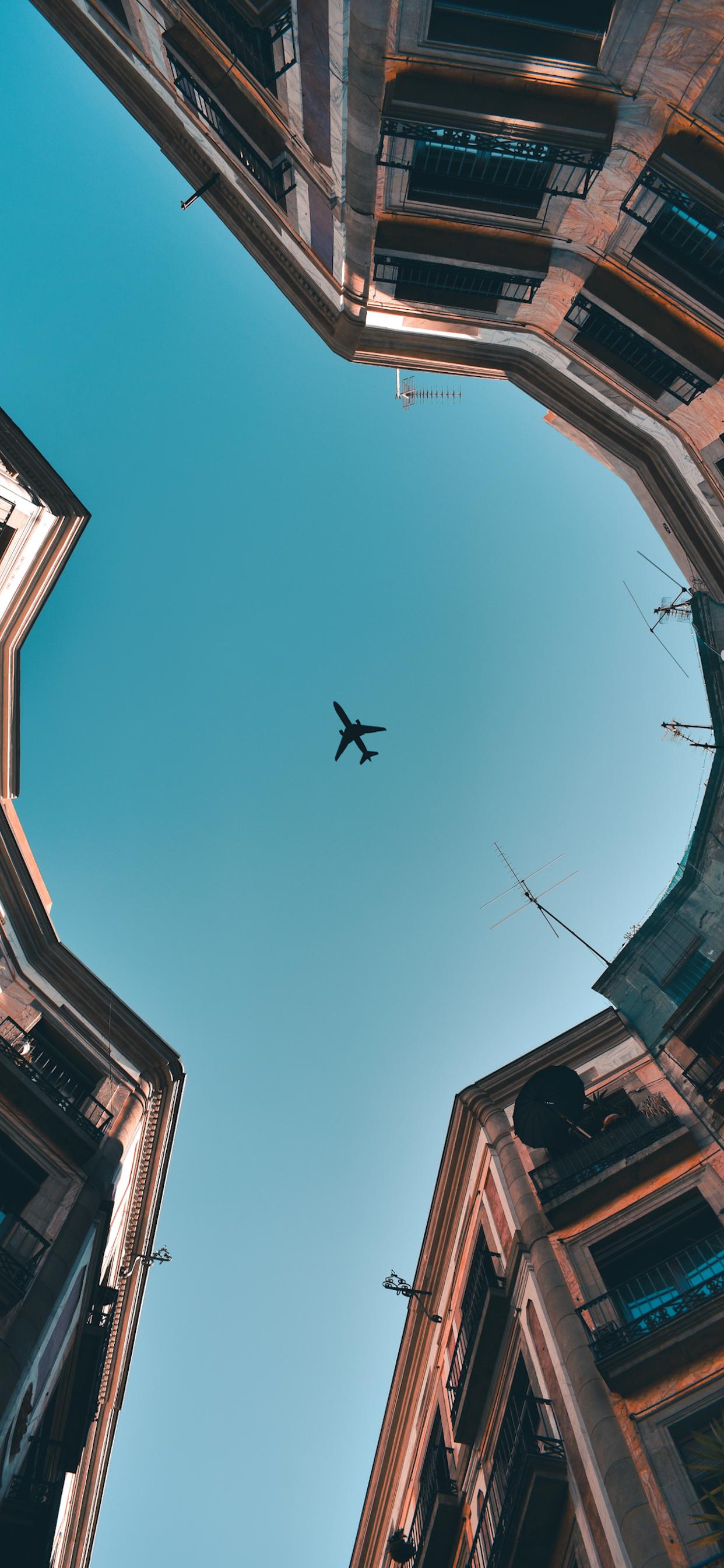 iPhone wallpapers airplane barcelona Fonds d'écran iPhone du 13/08/2019