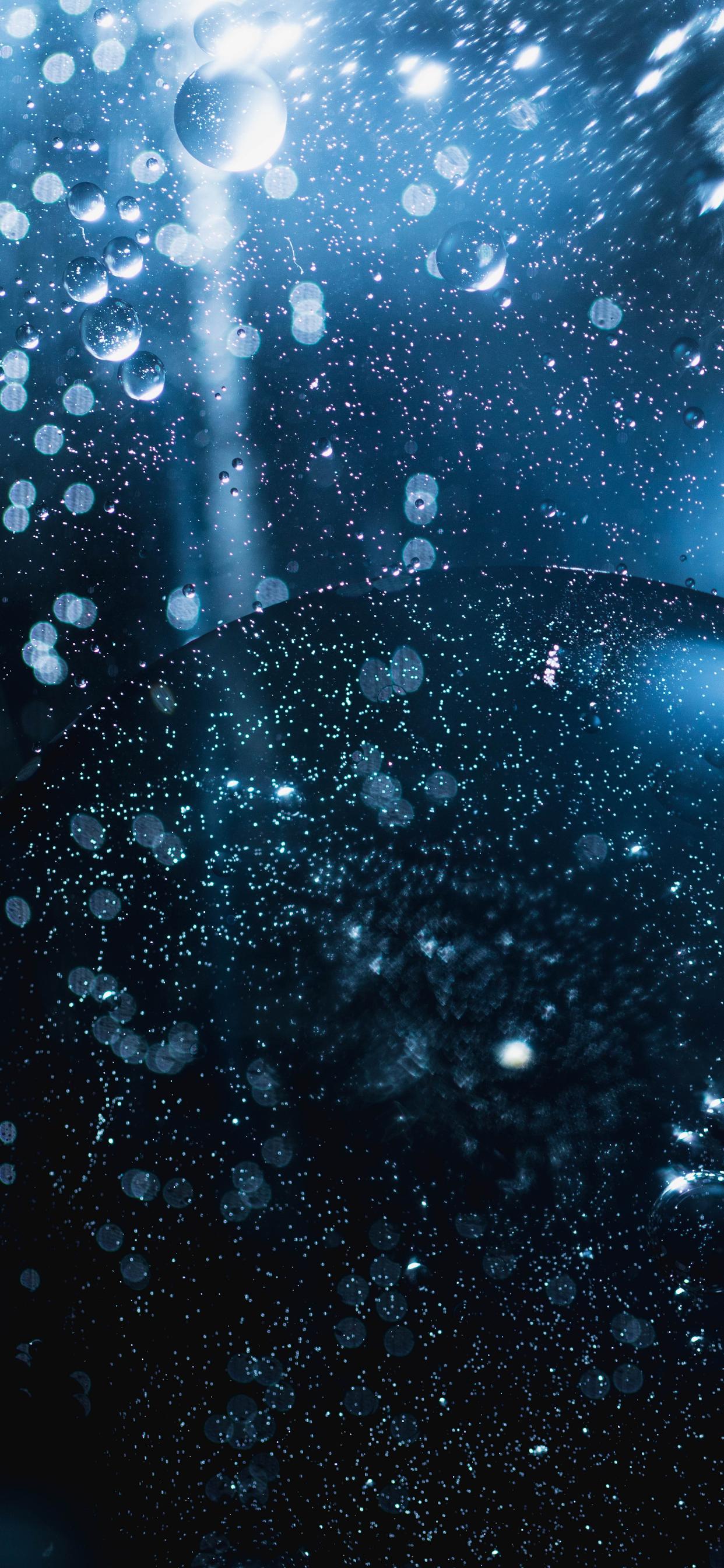 iPhone wallpapers bubbles light Fonds d'écran iPhone du 27/08/2019