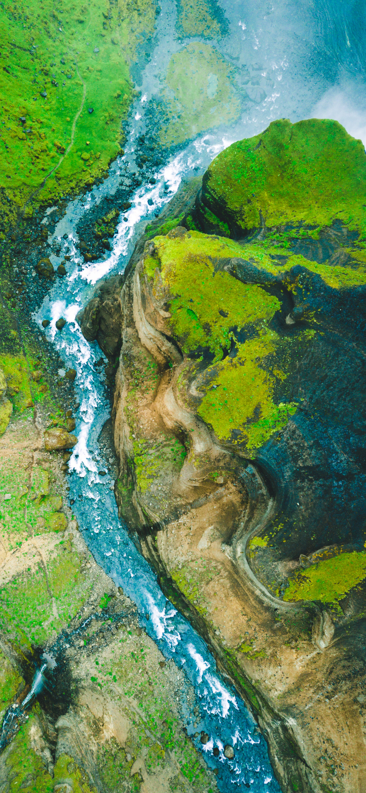 iPhone wallpapers aerial images iceland Fonds d'écran iPhone du 01/10/2019