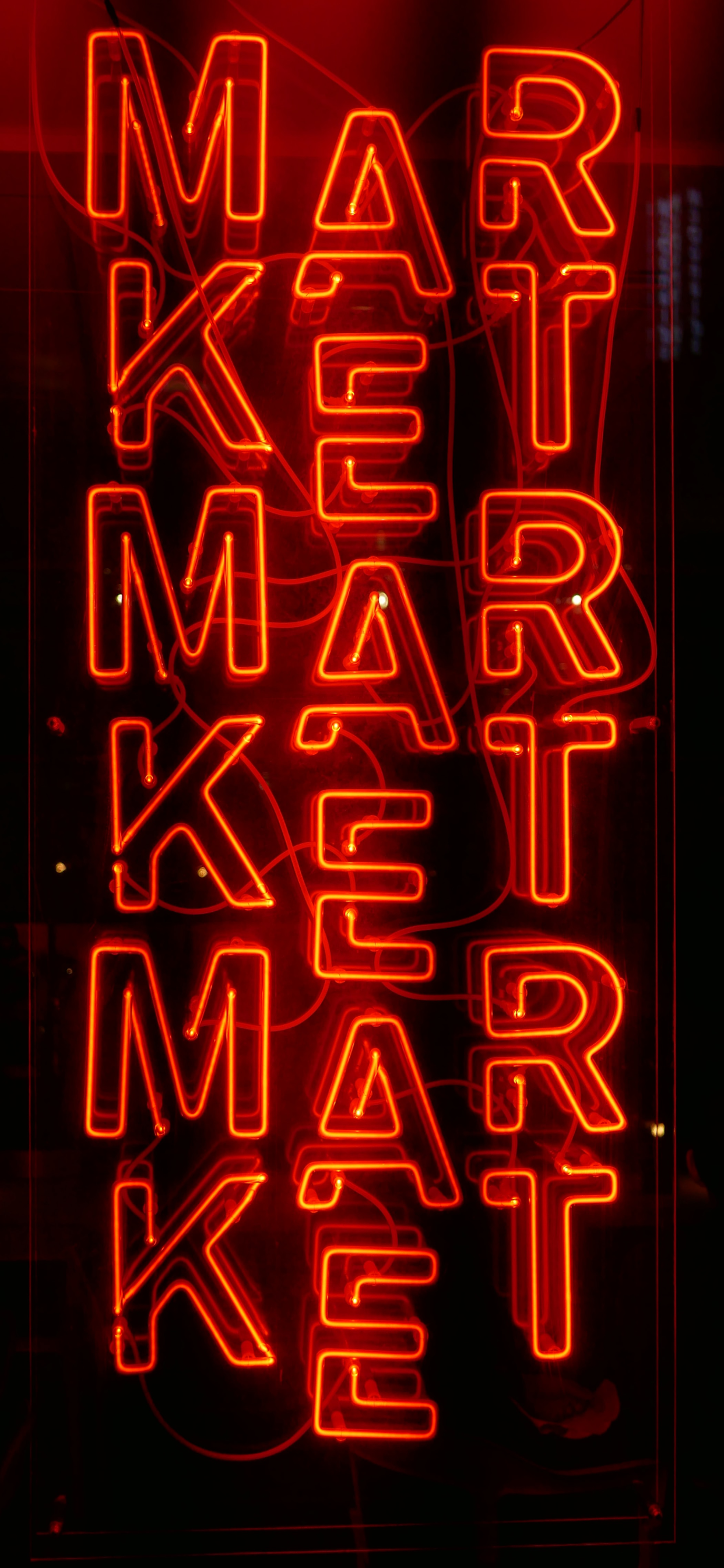 iPhone wallpapers neon sign market Neon sign
