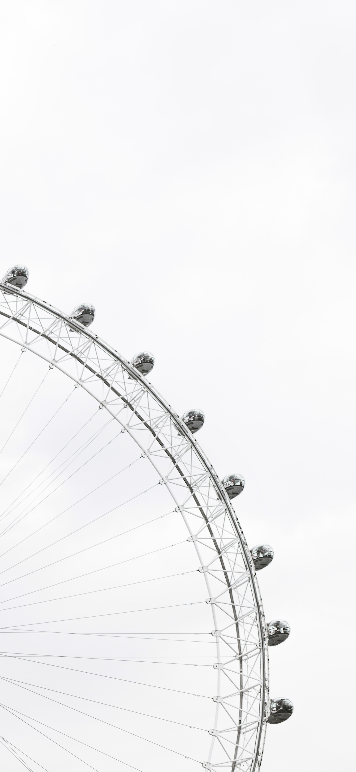 iPhone wallpapers minimal black white ferris wheel Fonds d'écran iPhone du 12/11/2019