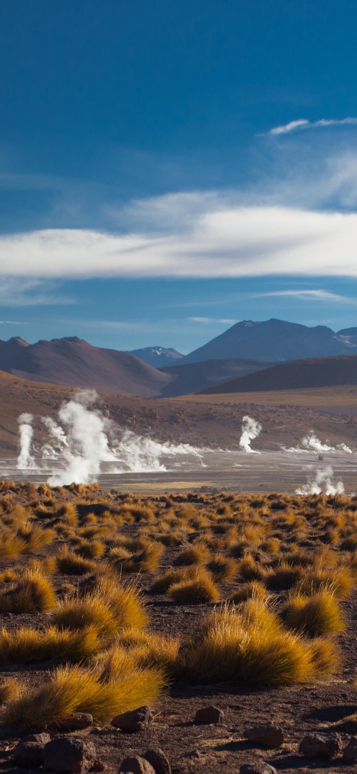 iPhone wallpapers atacama desert volcanoes geysers Fonds d'écran iPhone du 03/12/2019