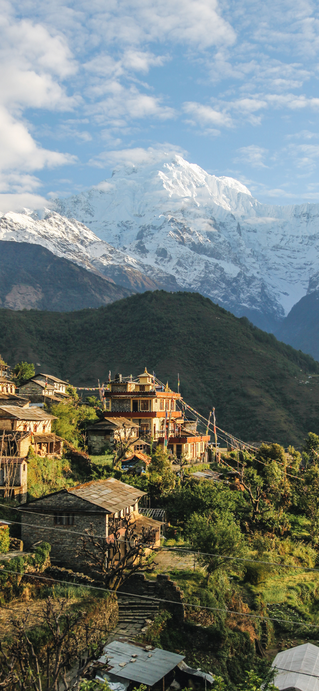 iPhone wallpapers nepal annapurna narchyang Fonds d'écran iPhone du 10/12/2019