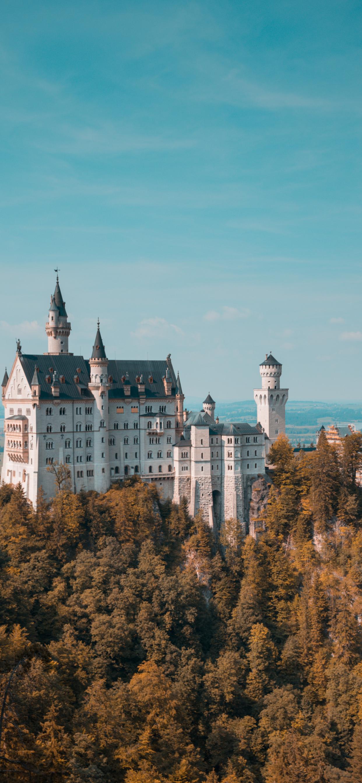 iPhone wallpaper castle neuschwanstein germany Castle