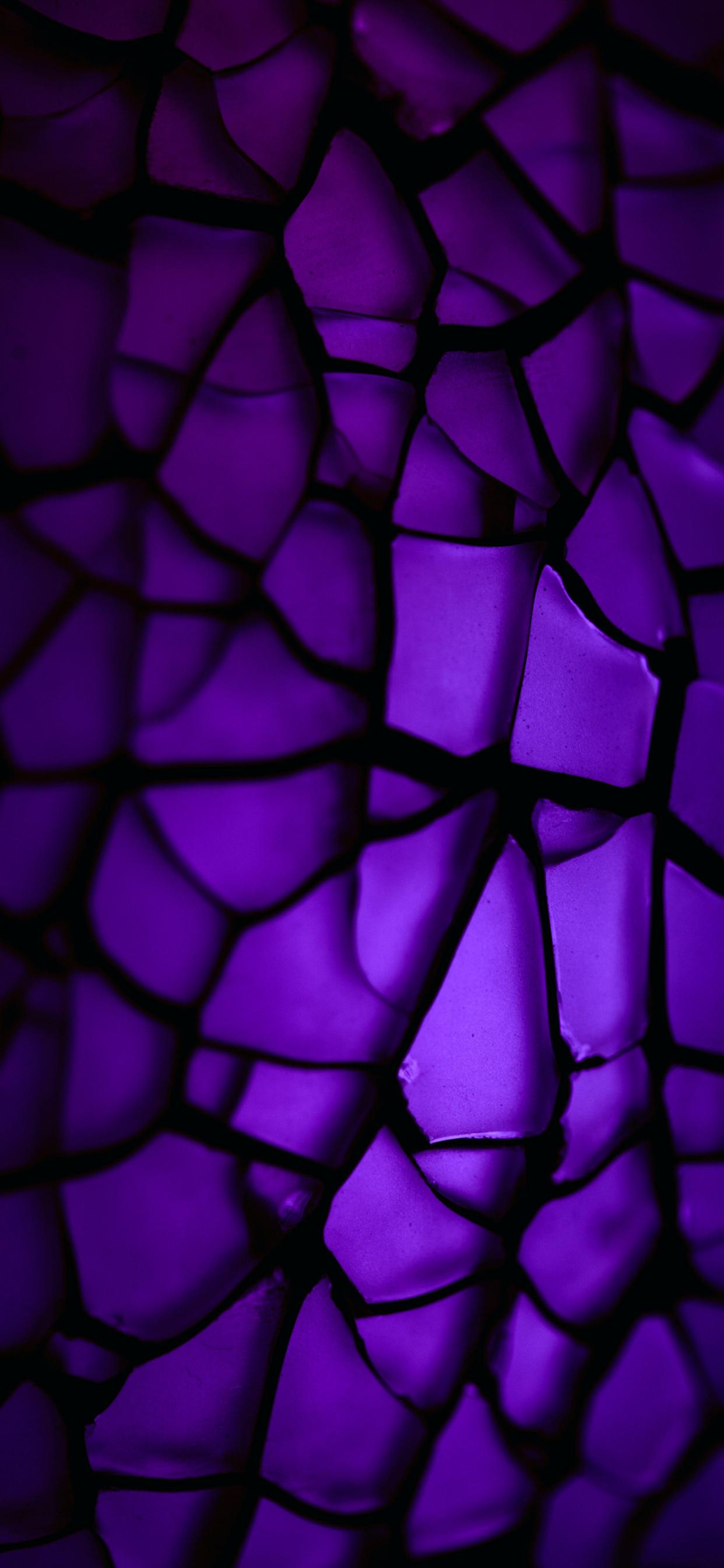 iPhone wallpapers abstract glass dark purple Fonds d'écran iPhone du 28/01/2020