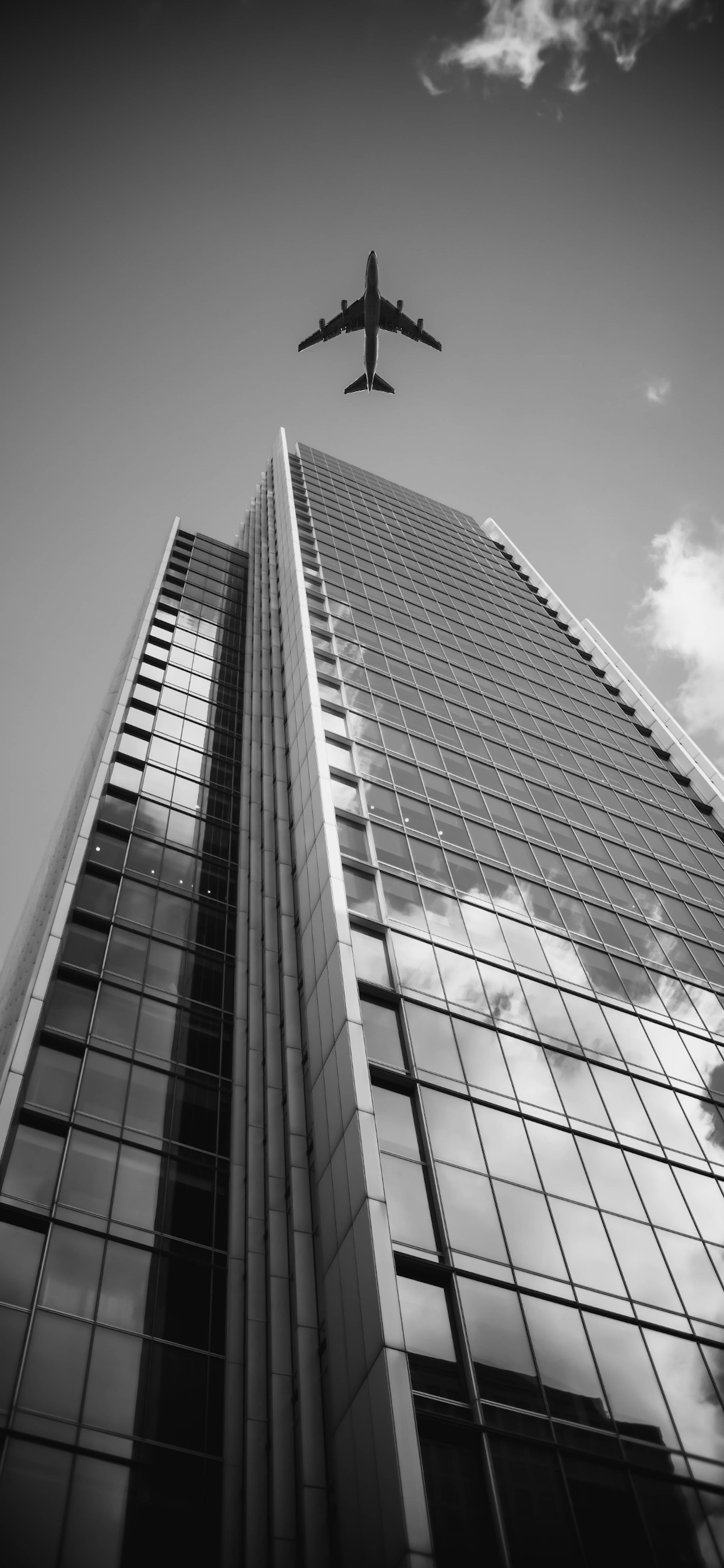 iPhone wallpapers black white building london Black and White