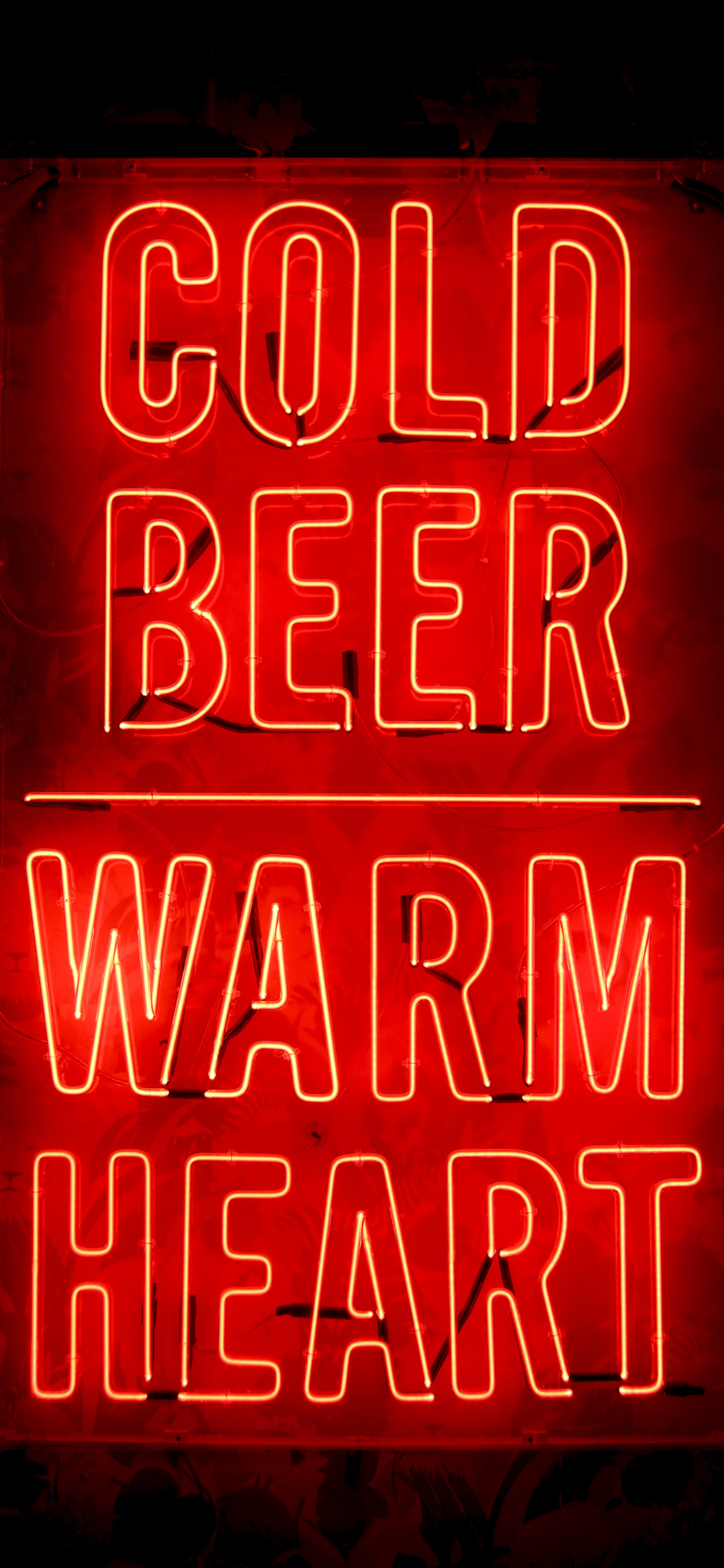 iPhone wallpapers neon sign cold beer Neon Sign