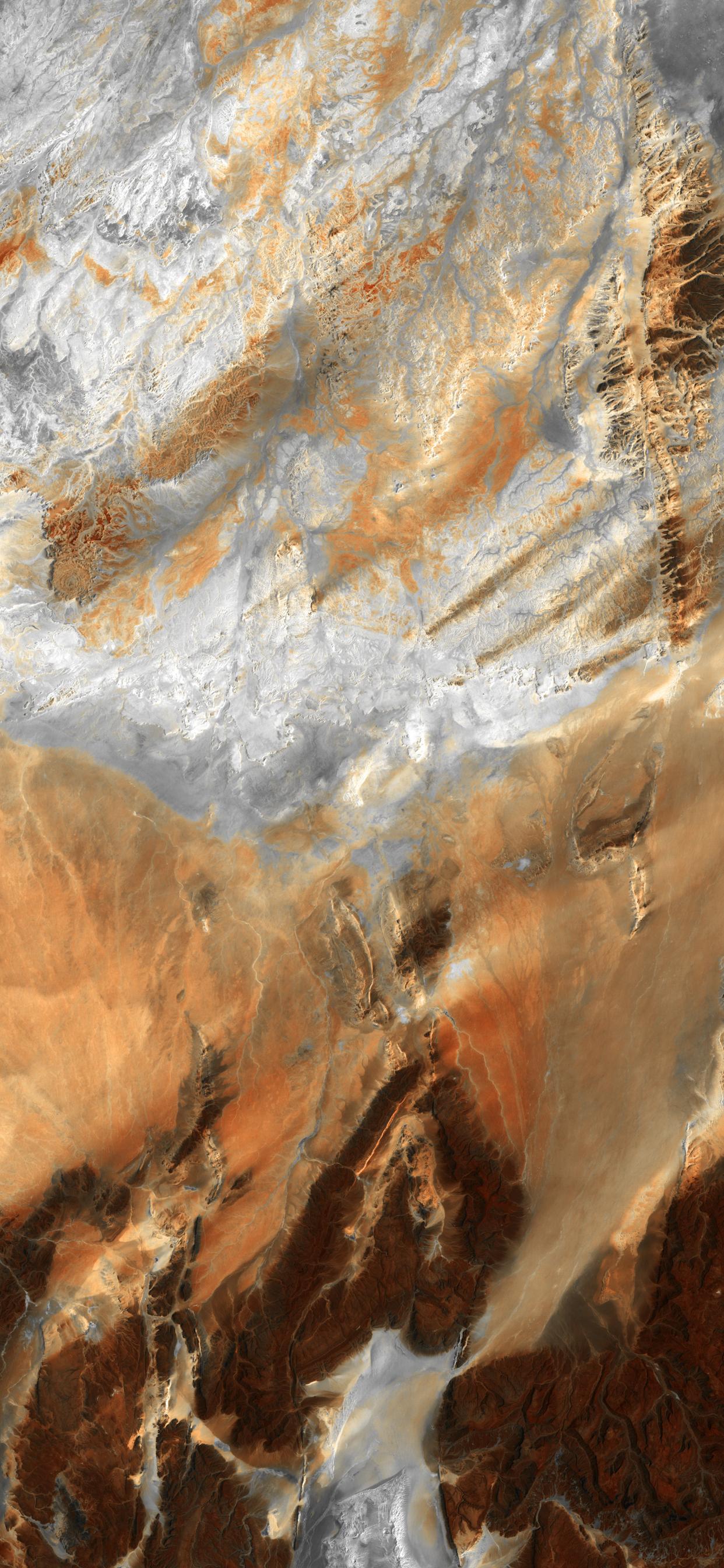 iPhone wallpapers satellite images sahara desert Fonds d'écran iPhone du 21/01/2020