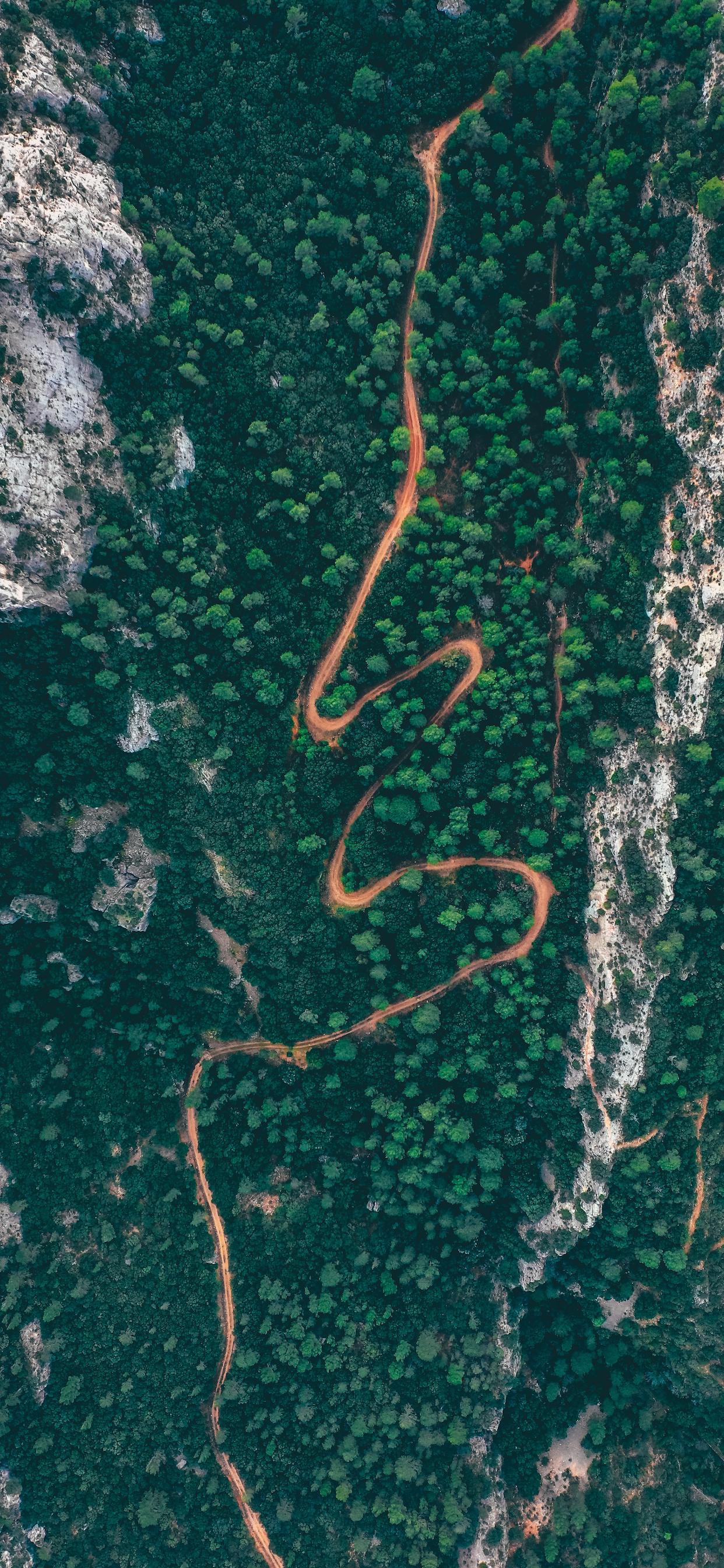 iPhone wallpapers aerial image horta de sant joan Aerial image