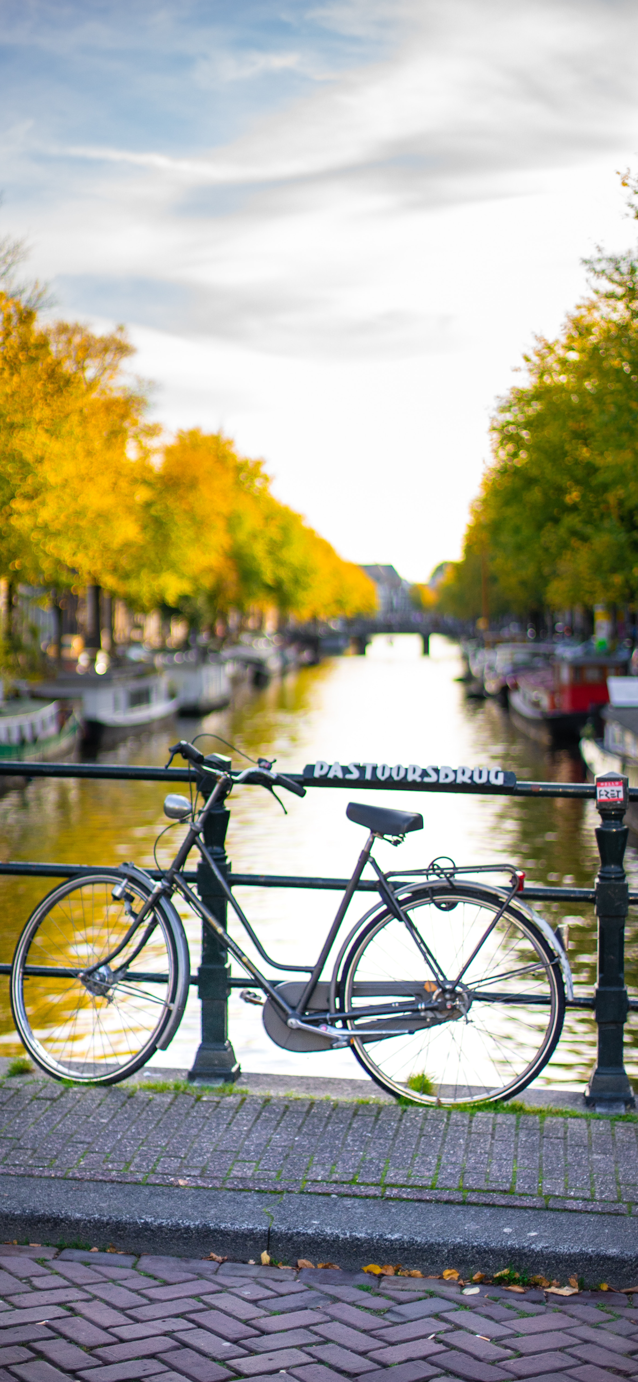 iPhone wallpapers bicycle amsterdam Bicycle