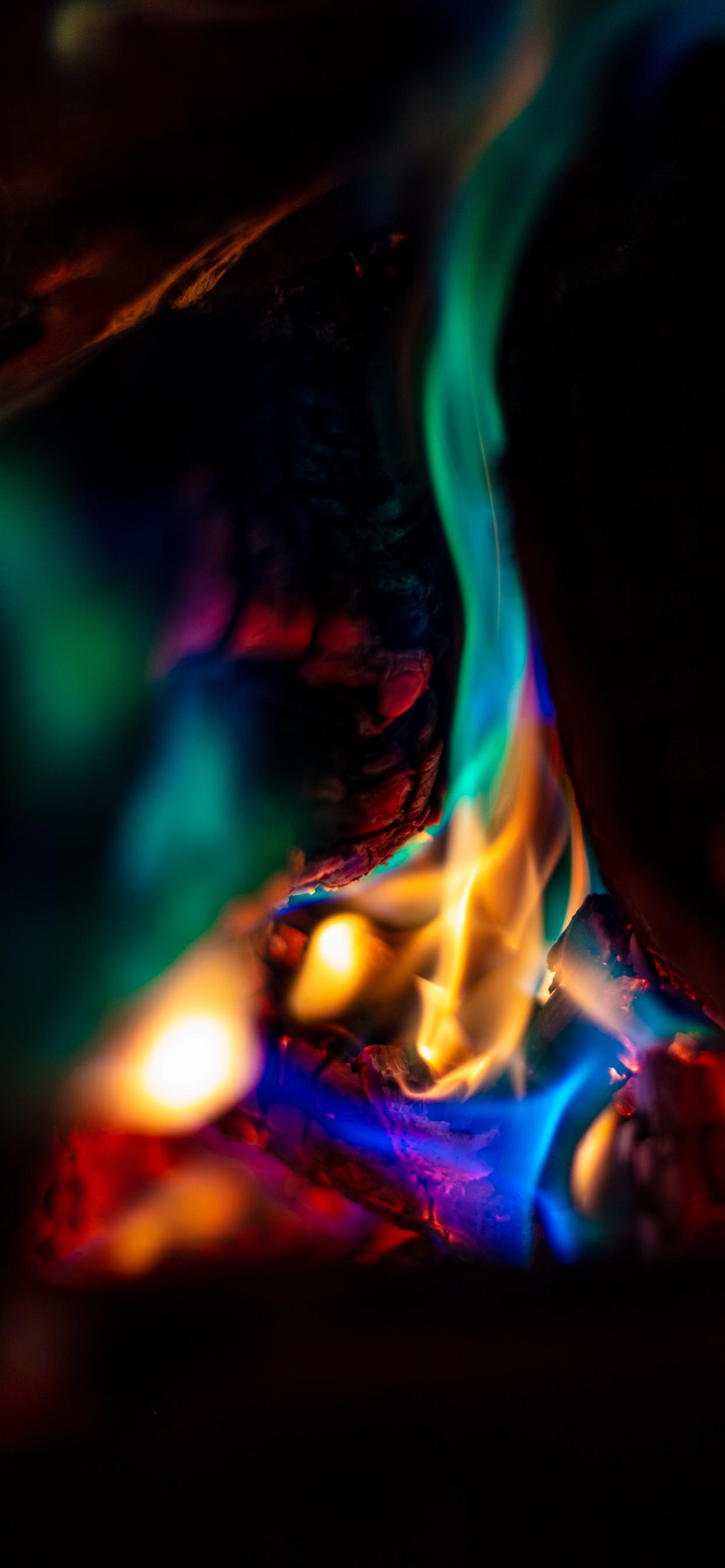 iPhone wallpapers fire colors 2 Fonds d'écran iPhone du 20/02/2020