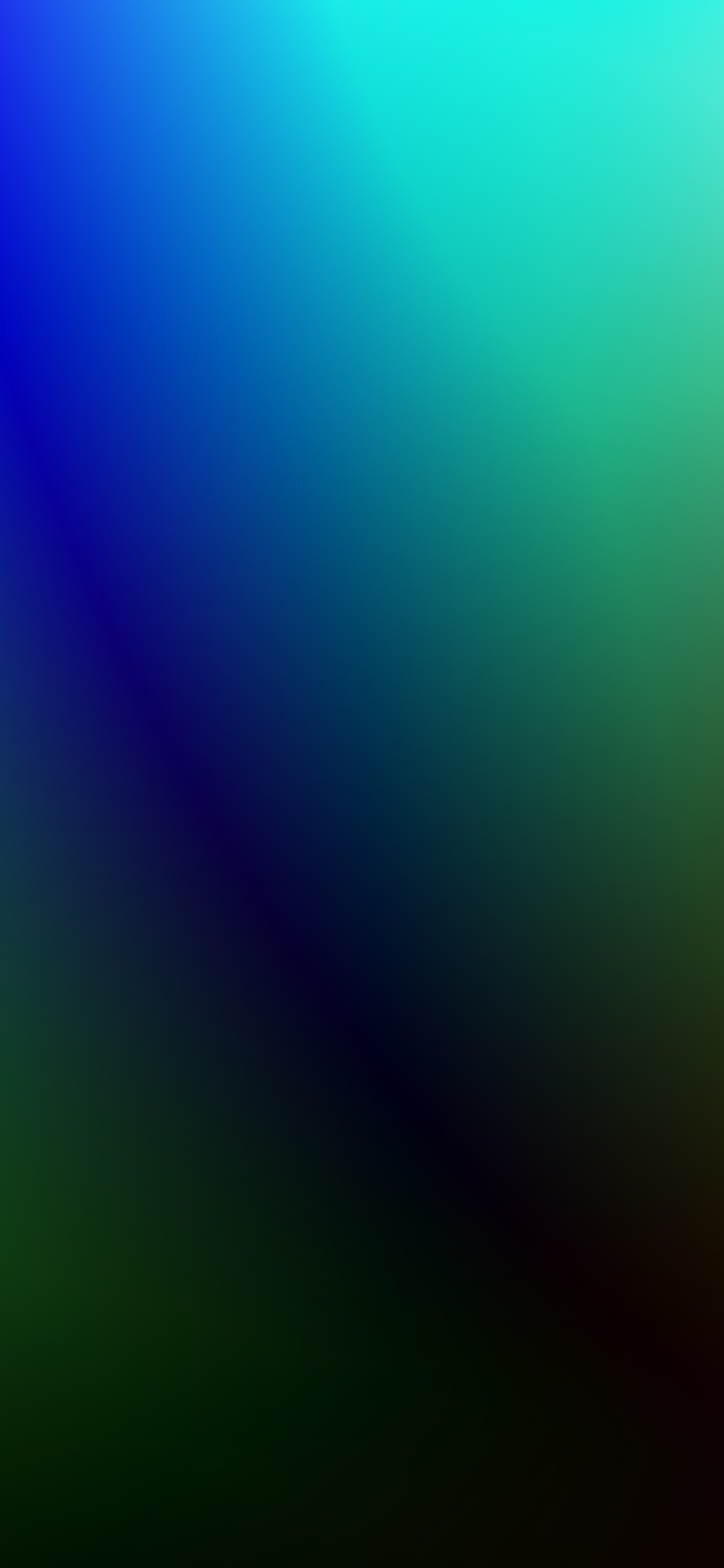 iPhone wallpapers gradient colors green blue Fonds d'écran iPhone du 24/03/2020
