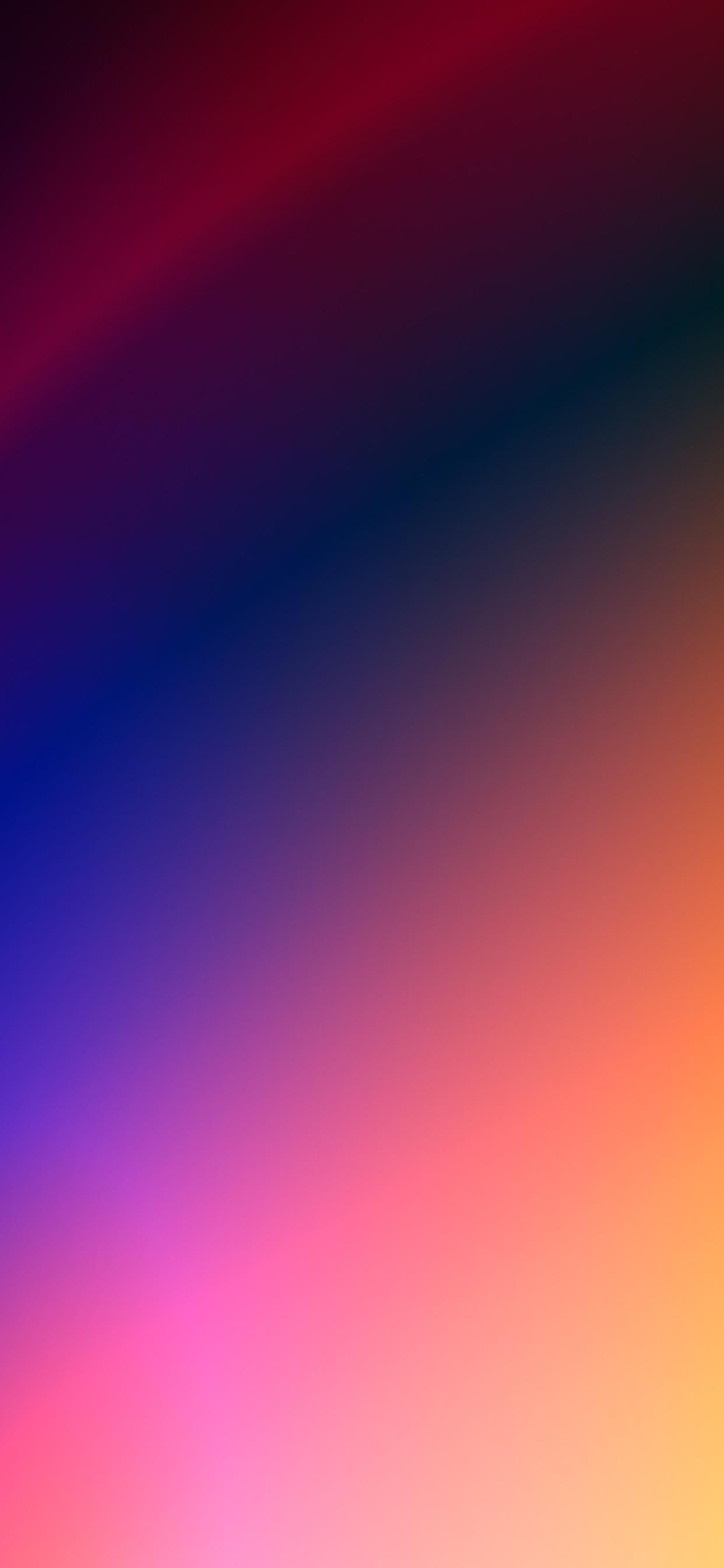 iPhone wallpapers gradient colors pink blue Fonds d'écran iPhone du 24/03/2020