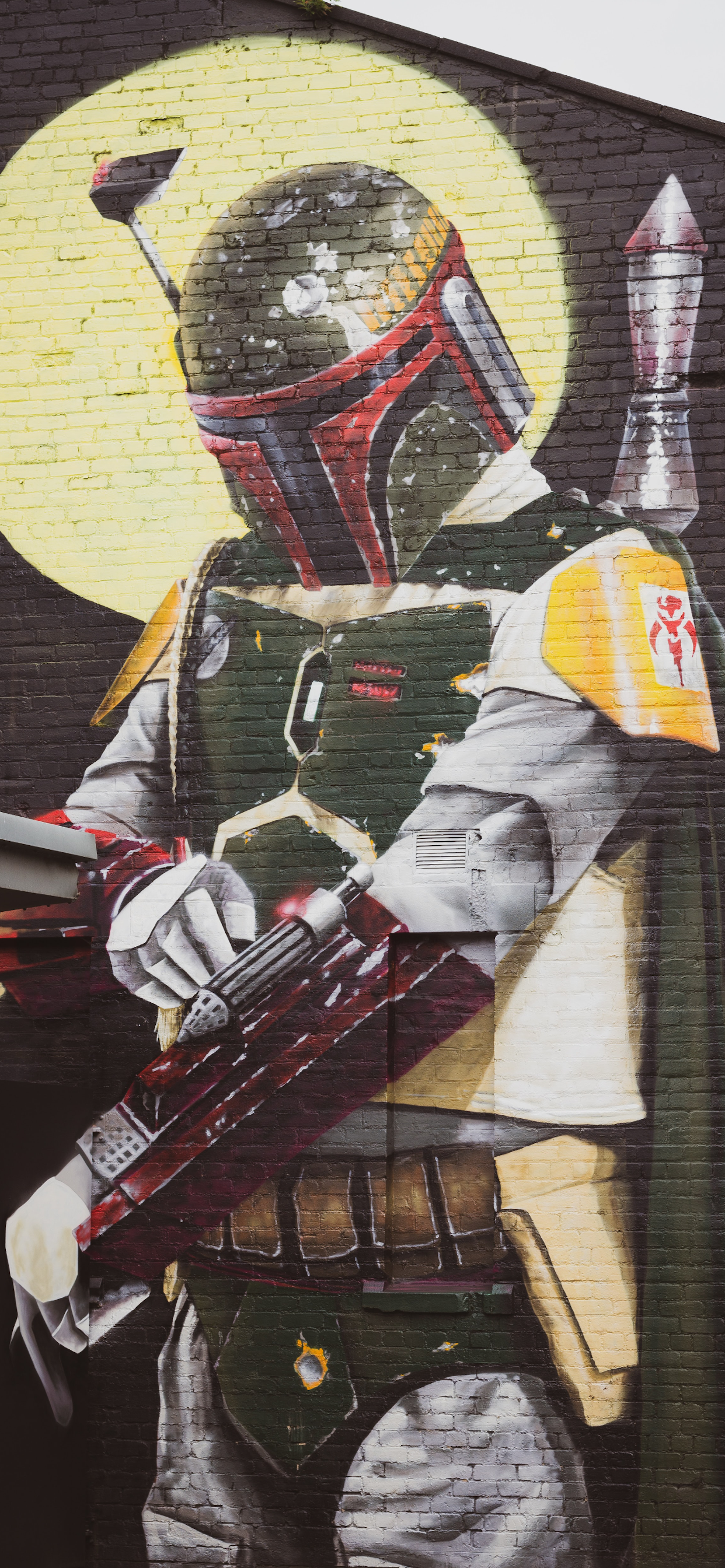 iPhone wallpapers graffiti star wars Graffiti