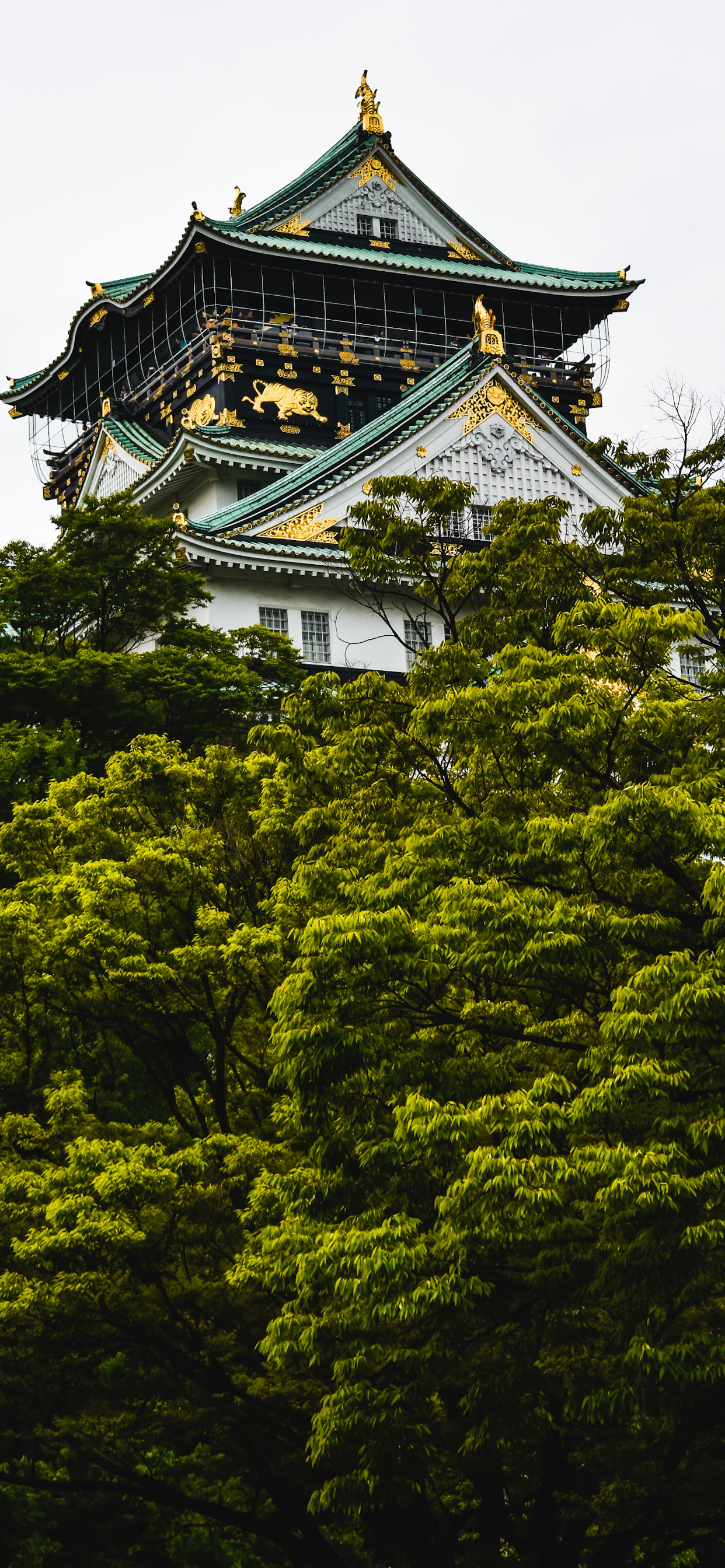 iPhone wallpapers temple osaka japan Temple