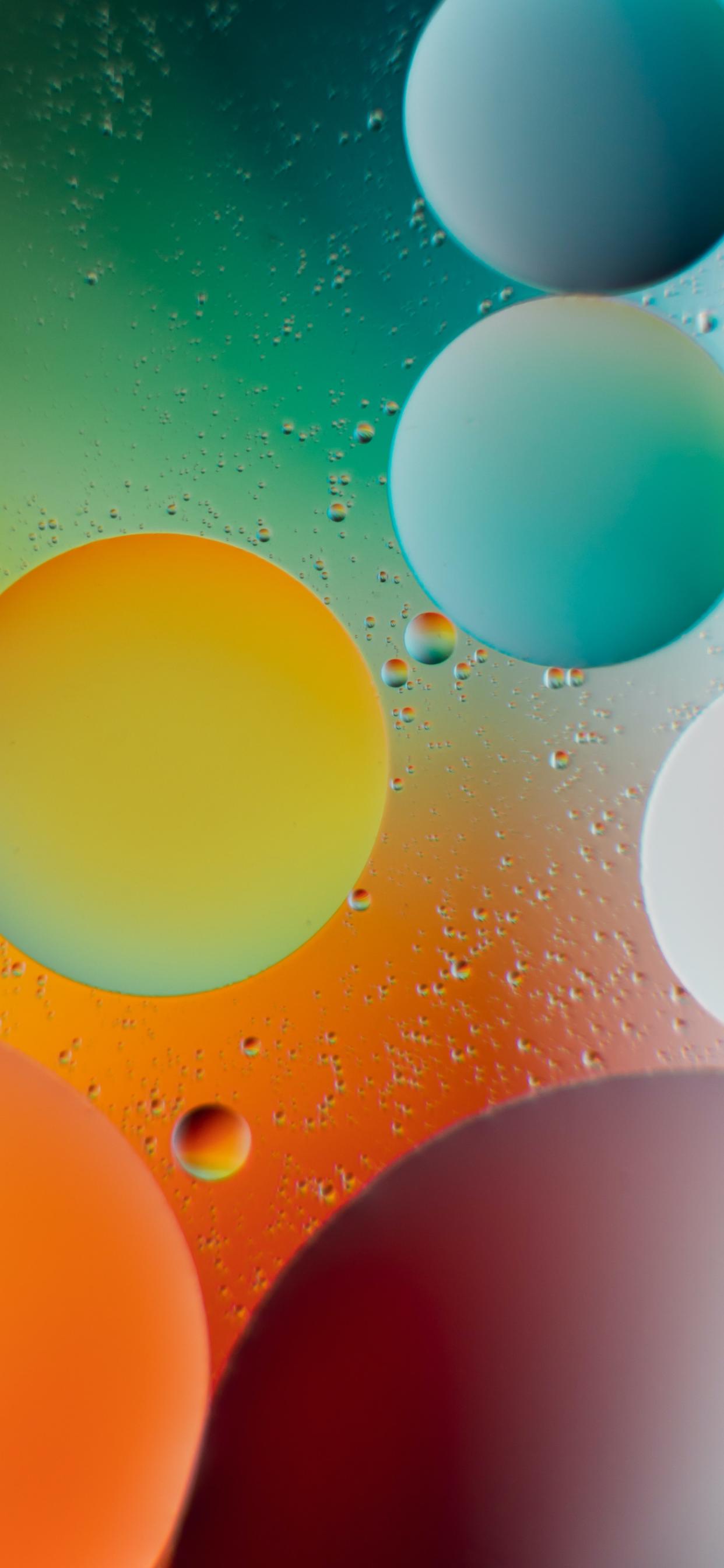 iPhone wallpapers abstract bubbles first Fonds d'écran iPhone du 13/05/2020