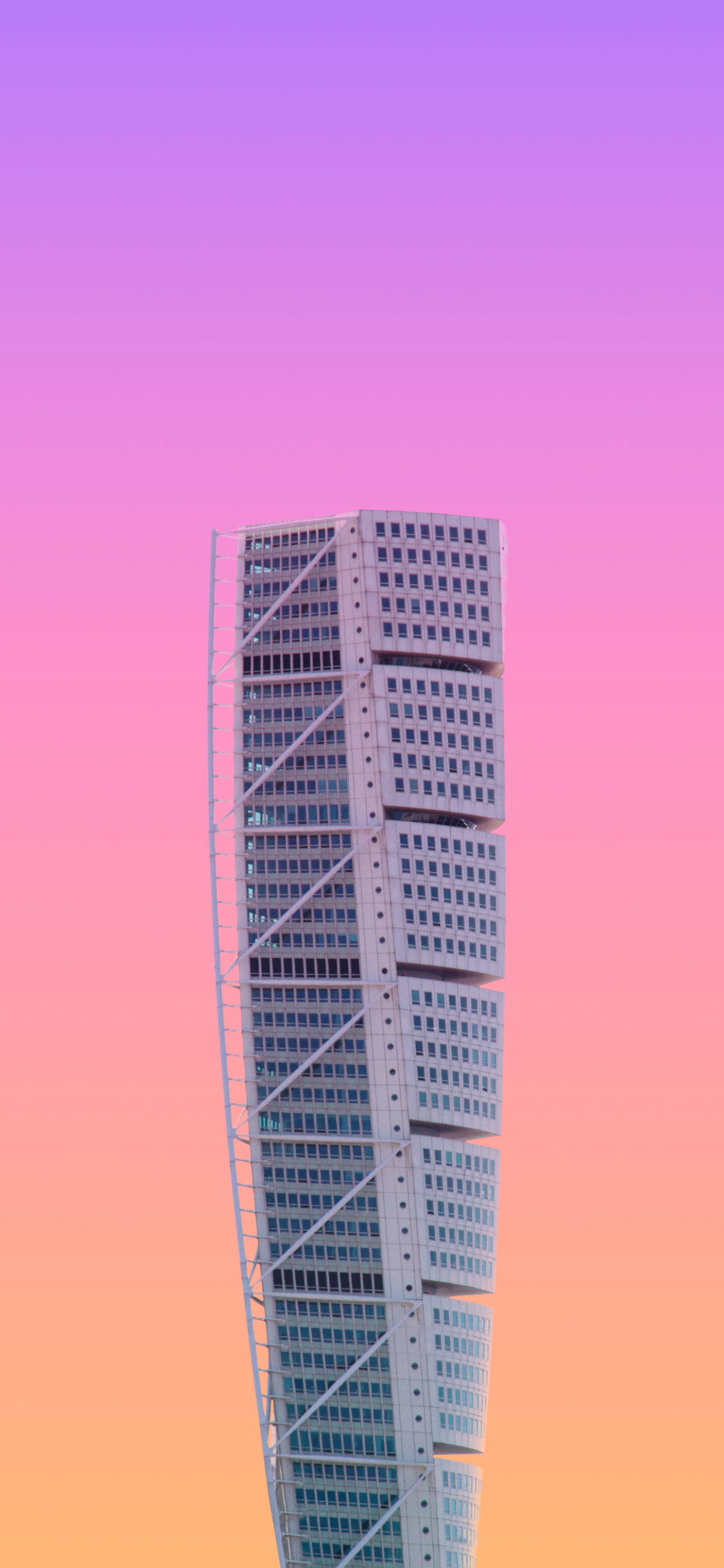 iPhone wallpapers architecture building gradients Architecture