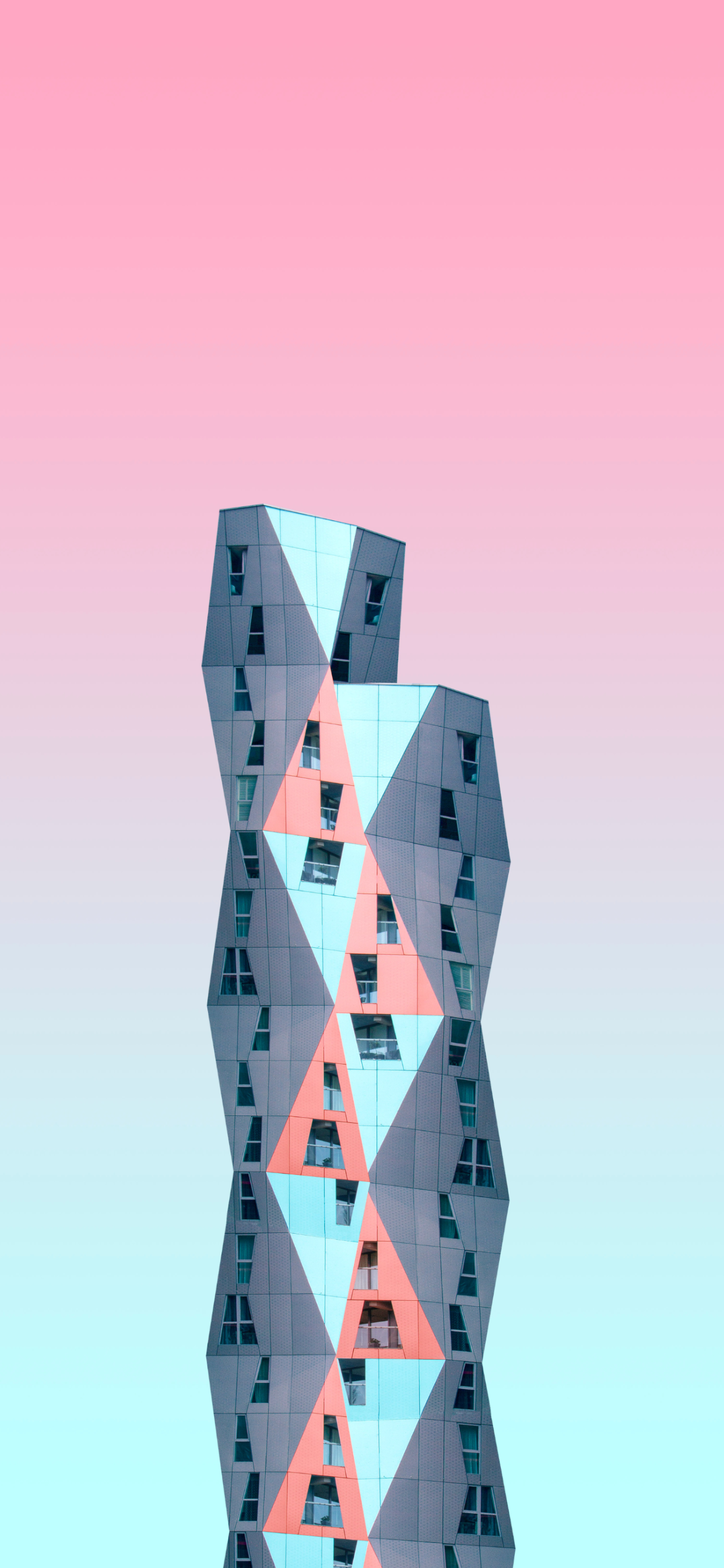 iPhone wallpapers architecture building gray red Architecture