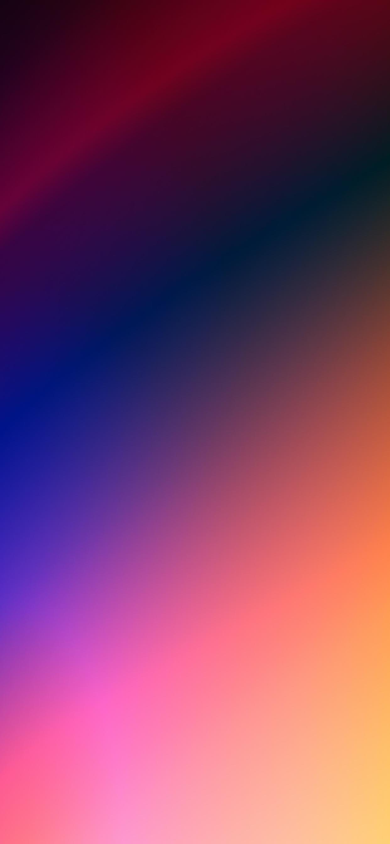 iPhone wallpapers gradient colors blue pink green Fonds d'écran iPhone du 27/05/2020