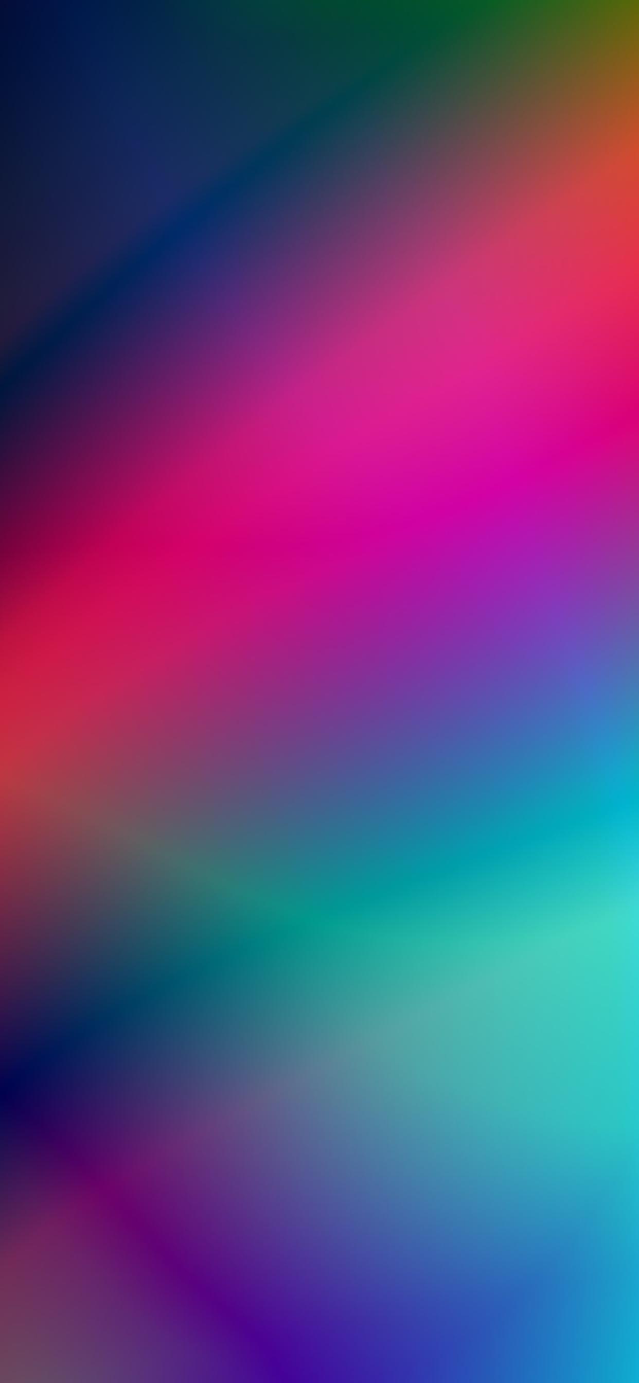 iPhone wallpapers gradient colors pink blue yellow Fonds d'écran iPhone du 27/05/2020