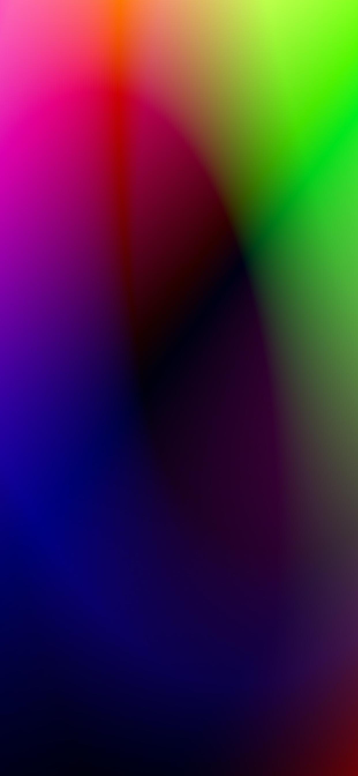iPhone wallpapers gradient colors purple green blue Fonds d'écran iPhone du 27/05/2020