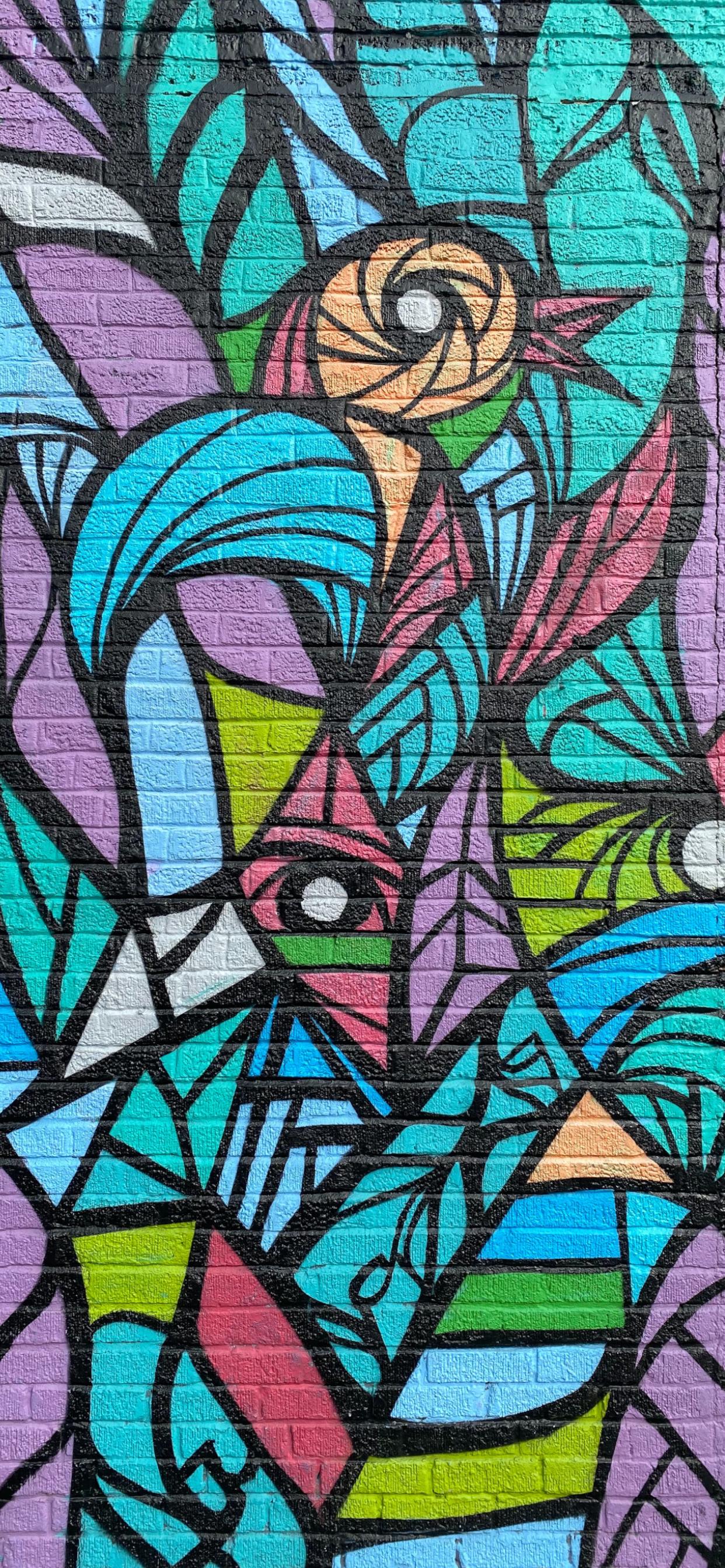 iPhone wallpapers graffiti bird colors Fonds d'écran iPhone du 12/05/2020
